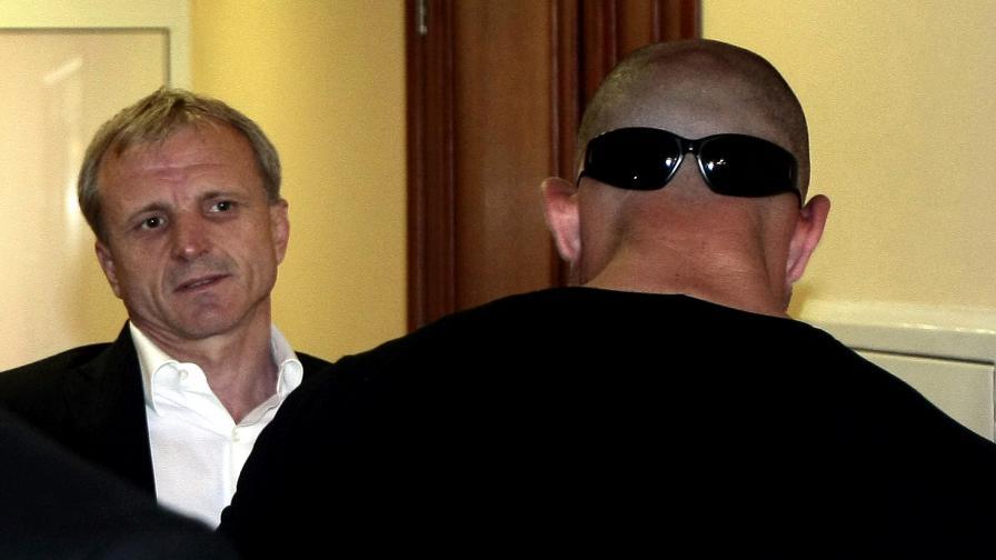 Гриша Ганчев пристига в съда при предишното заседание