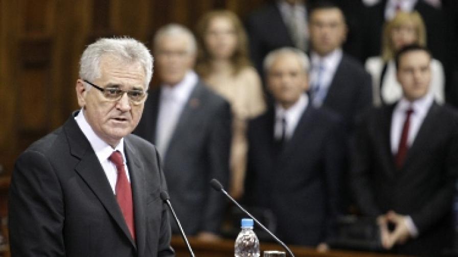 Новият сръбски президент отрече геноцида в Сребреница
