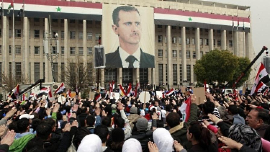 Башар Асад: Външни сили са виновни за кризата в Сирия