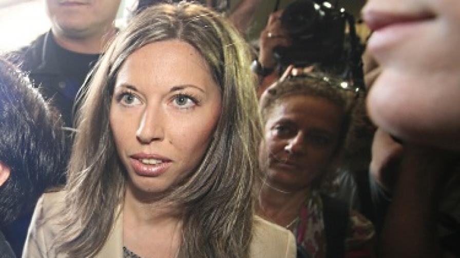 Калина Илиева в съда