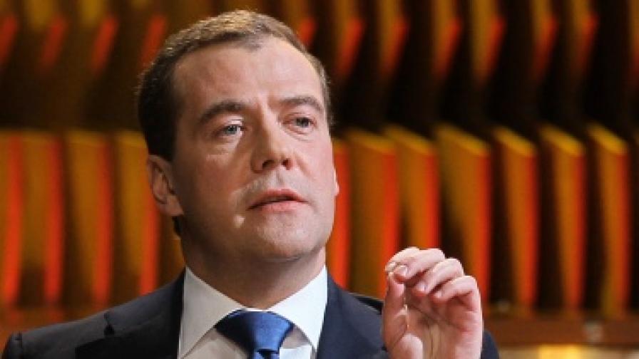 Медведев: Не съм технически премиер