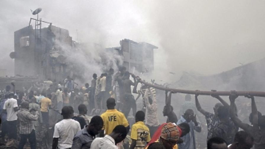 Двигателите на нигерийския самолет отказали