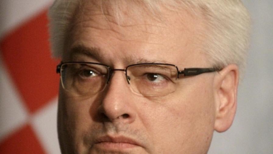 Президентът на Хърватия Иво Йосипович