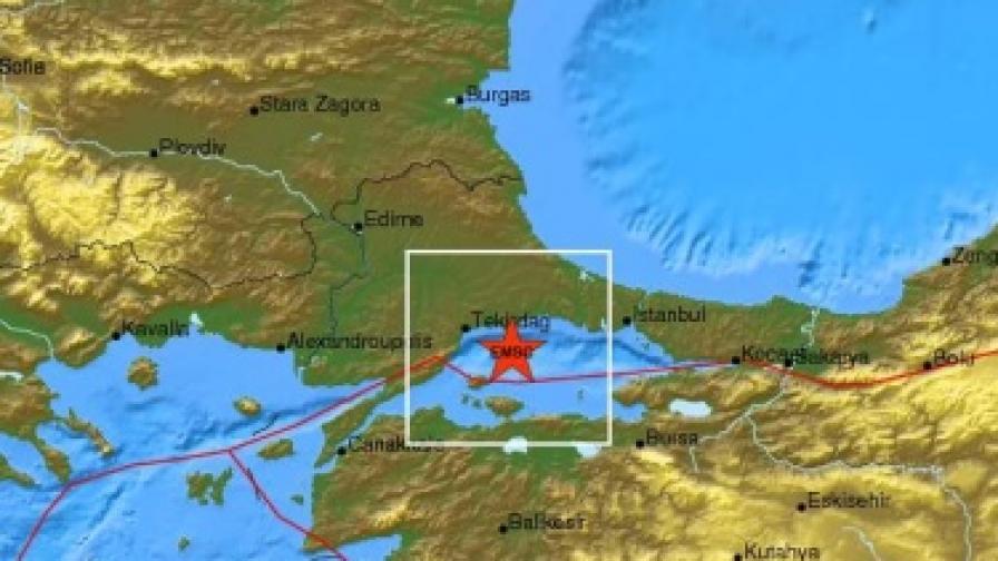 Земетресение с магнитуд 5,1 в Турция, усетихме го и у нас