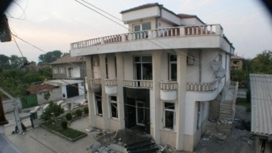 Един от имотите на Рашкови в Катуница