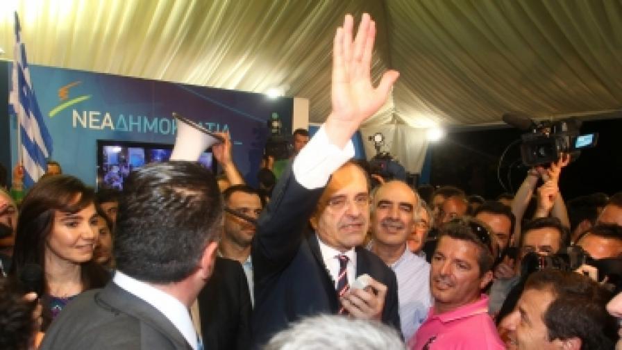 Проевропейската десница победи в изборите в Гърция