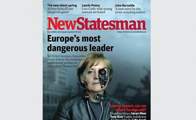 Британски левичар сравни Меркел с Хитлер