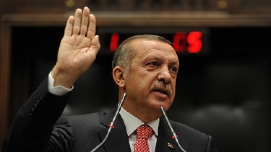 """Ердоган: Сирийският режим е """"открита и близка заплаха"""" за Турция"""