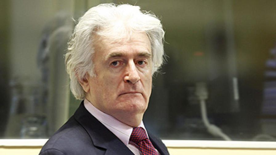 Оправдаха Радован Караджич по едно от обвиненията за геноцид