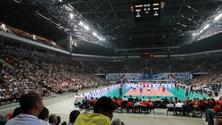 Волейбол за милиони в София
