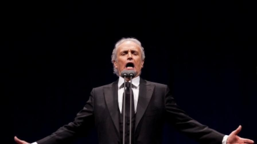 Хосе Карерас на концерт в Лисабон - 16 юни 2012 г.