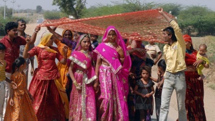 Индийско село забрани браковете по любов