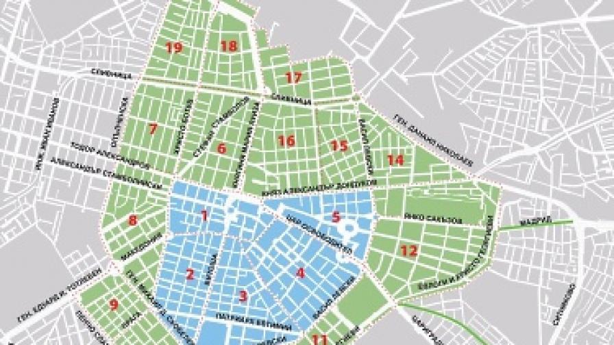 От 01.09.: Двойно по-скъпа синя зона в София