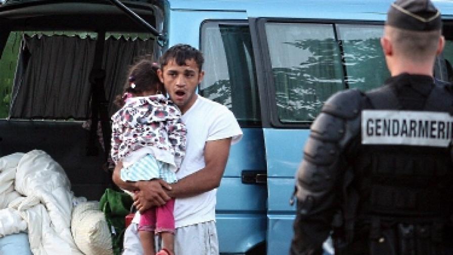 Франция: Роми си строят селище. Легално