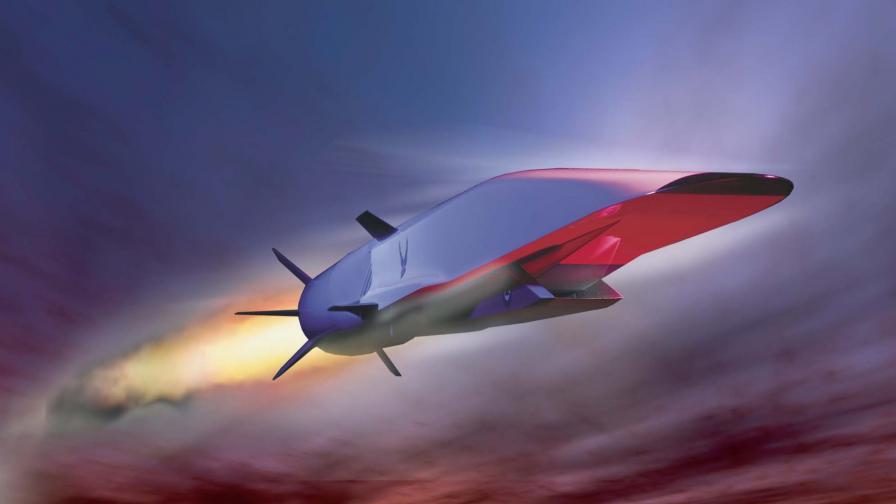 Новият хиперзвуков самолет на САЩ се разпадна