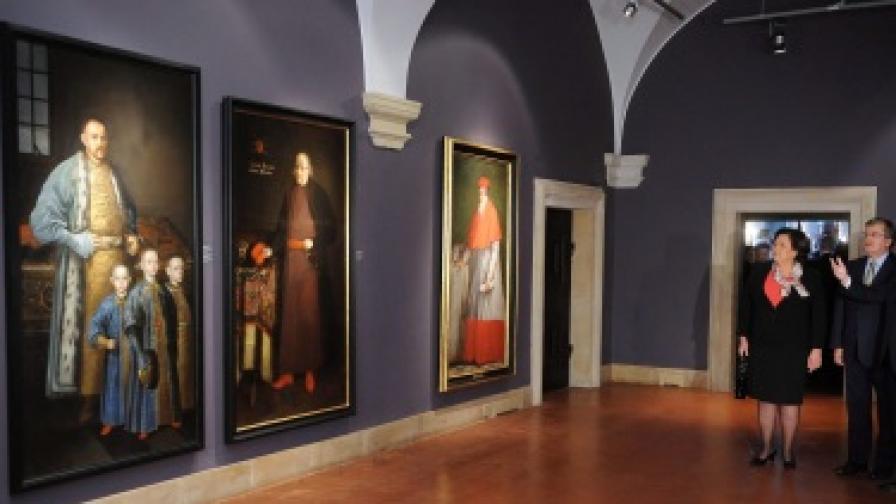 Картина на Рембранд се изгуби по пощата