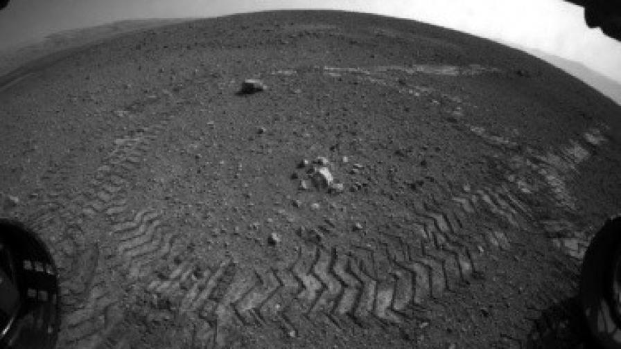 """""""Кюриосити"""" подуши въздуха на Марс"""