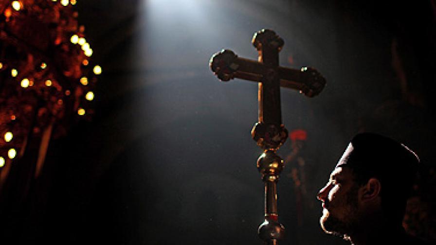Скандал, кости на жена в Света гора