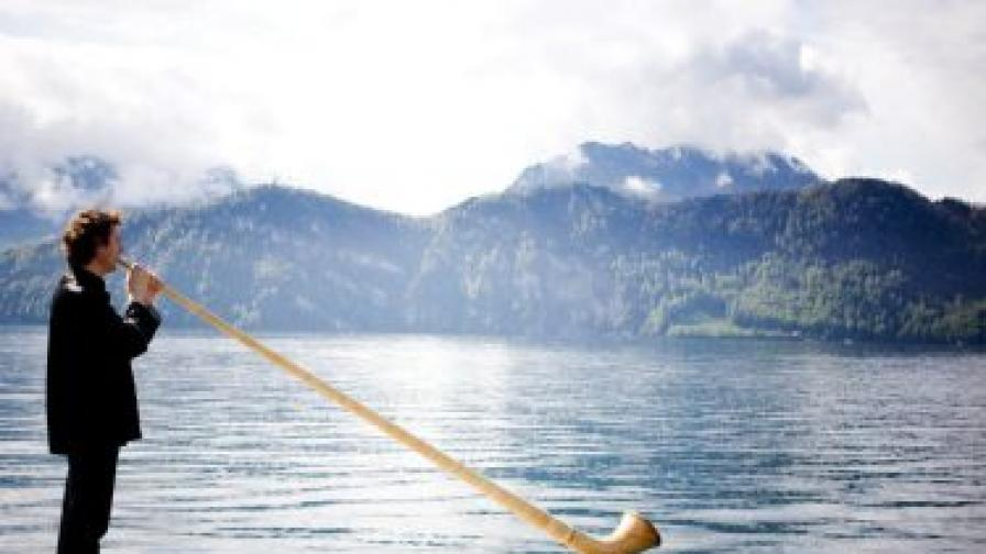 Преживяването с апийския рог на Аркади Шилклопер е неописуемо