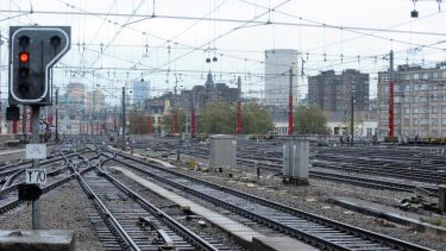 В Белгия спряха всички влакове