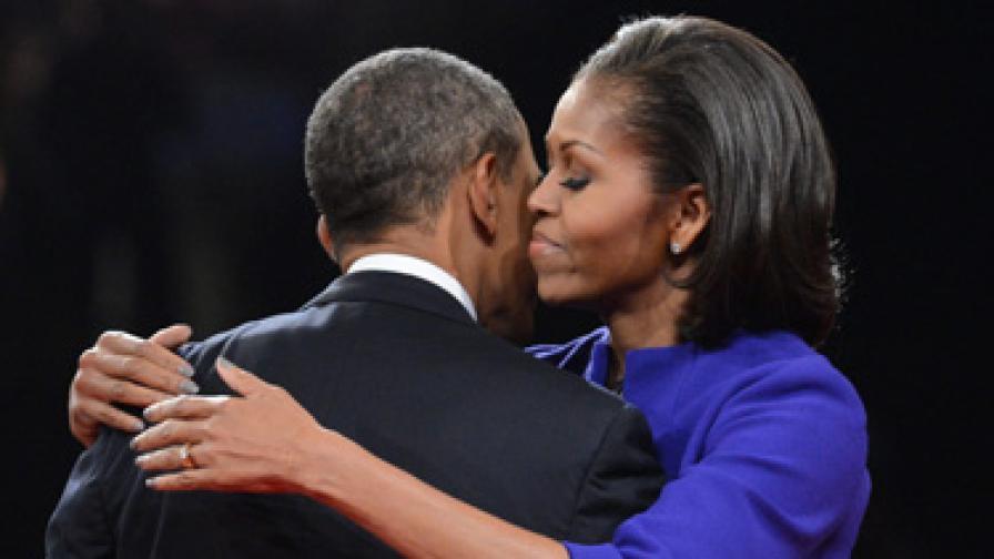 Семейство Обама отпразнува 20 години брак за 2 часа и 20 минути
