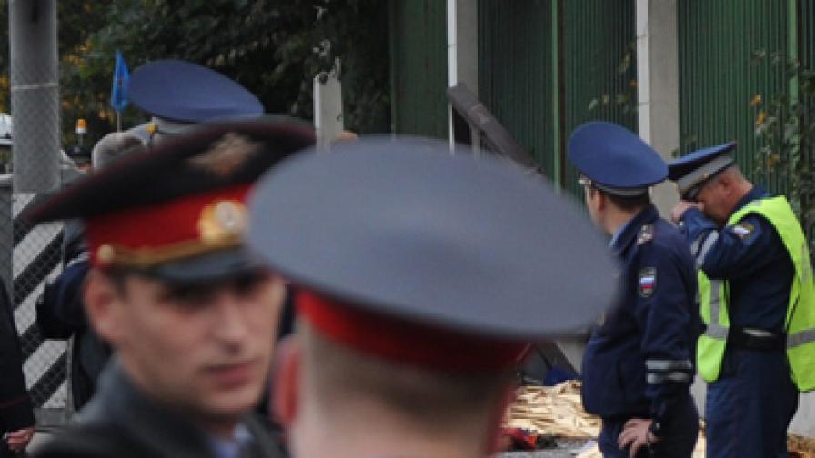 """Откриха взривно устройство край """"Домодедово"""""""