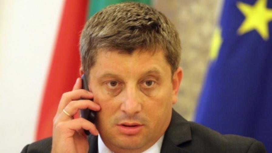 Председателят на временната парламентарна комисия за шистовия газ Диан Червенкондев