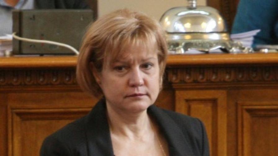 ГЕРБ предлага Менда Стоянова за зам.-председател на парламента