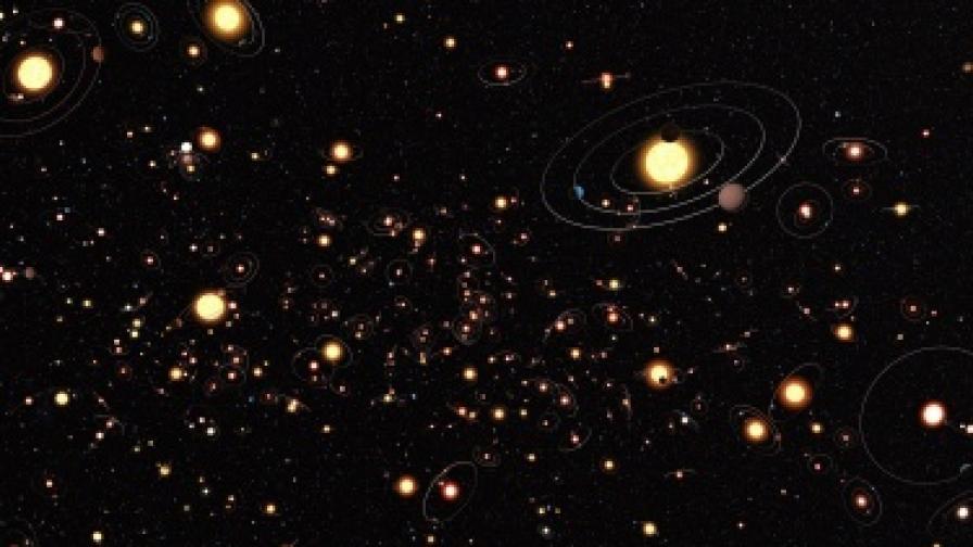 Откриха голяма диамантена планета