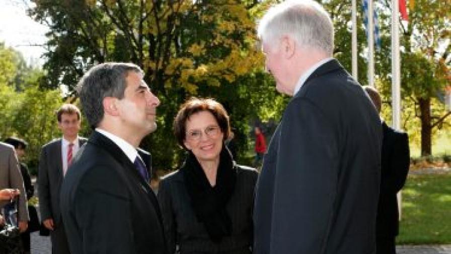 Плевнелиев търси инвестиции в Бавария