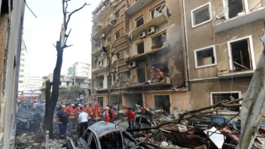 Траур в Ливан заради атентата в Бейрут