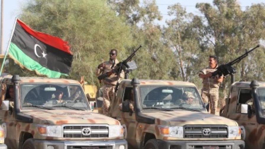 Най-малкият син на Кадафи вероятно е убит