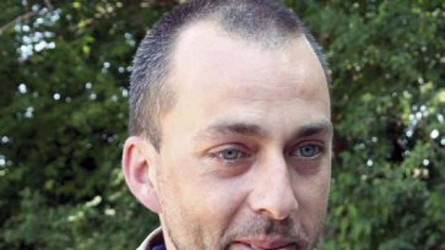 Археологът Александър Чохаджиев от Регионалния исторически музей във Велико Търново