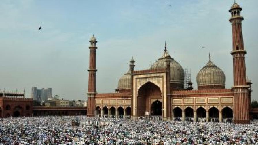 Мюсюлманите честват Курбан байрам