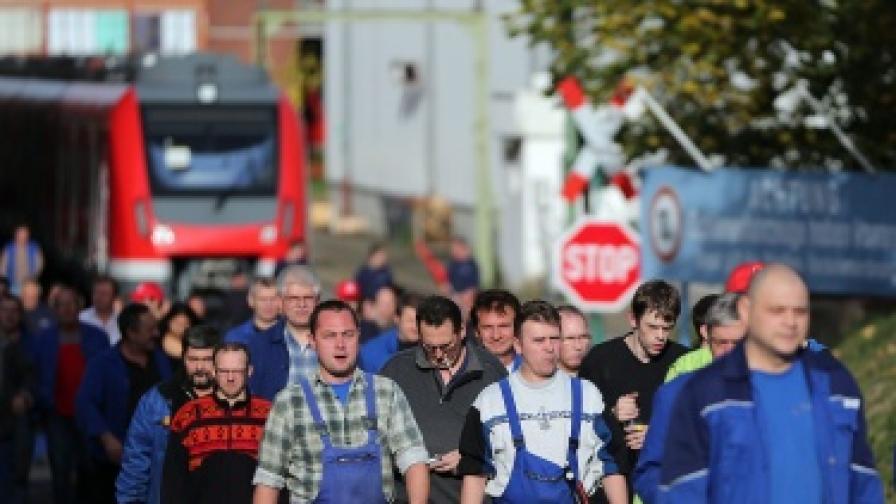 Германски профсъюзи ще се грижат и за българи