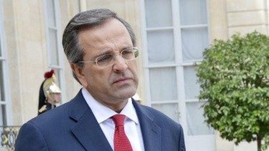 Министър-председателят на Гърция Андонис Самарас