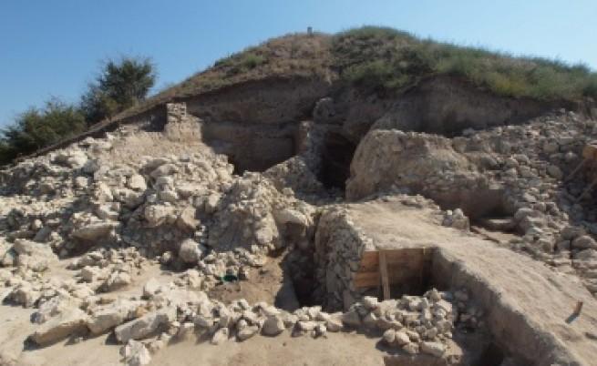 Праисторическият град е открит при разкопки в археологическия комплекс Провадия-Солницата