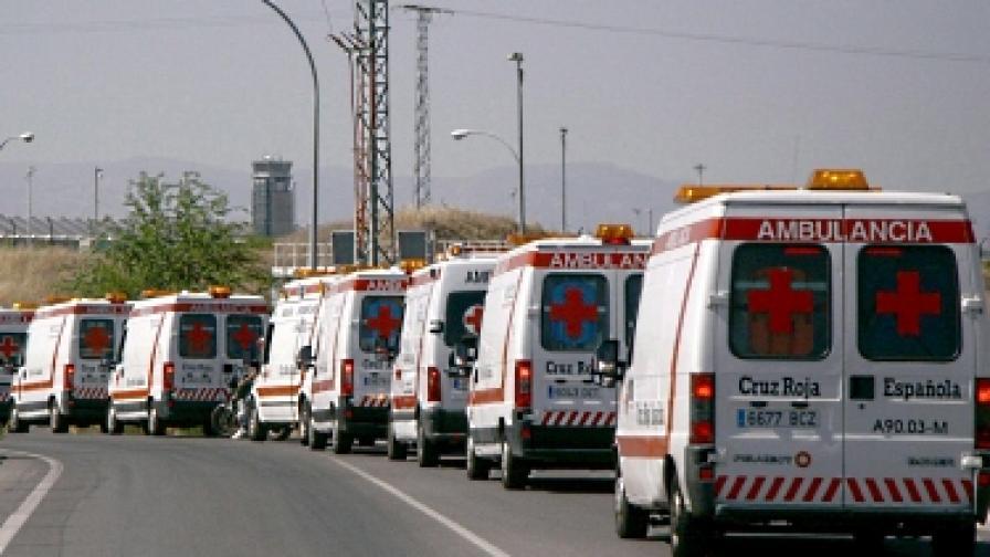 Парти за Вси светии взе три жертви в Мадрид