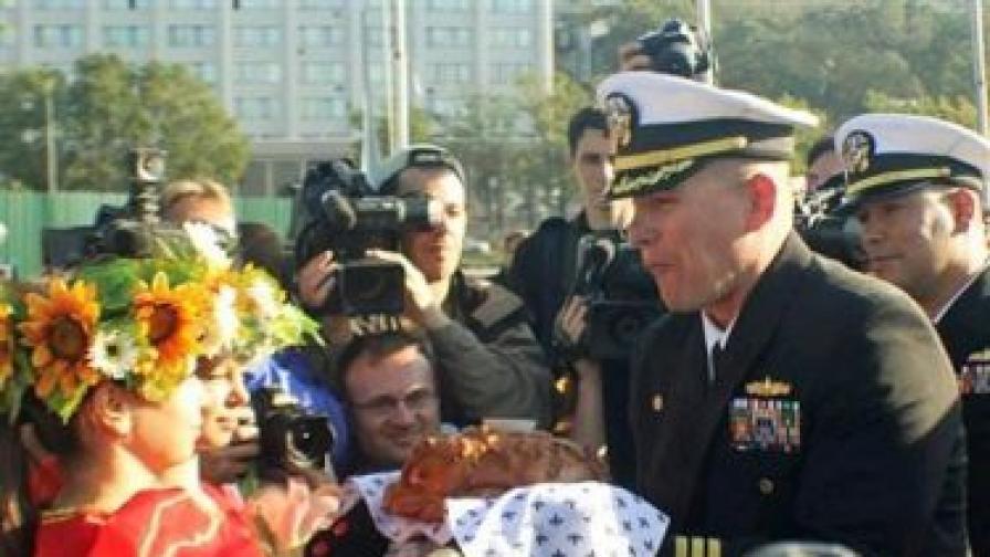 Американски военни моряци се напили по руски