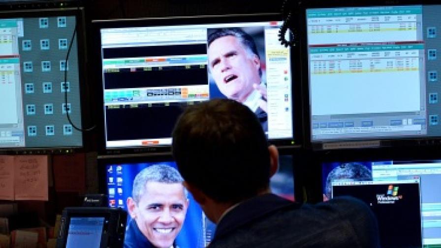 Борсите се сринаха след преизбирането на Обама