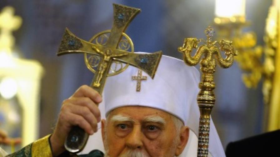 Патриарх Максим дарил 3 икони преди смъртта си