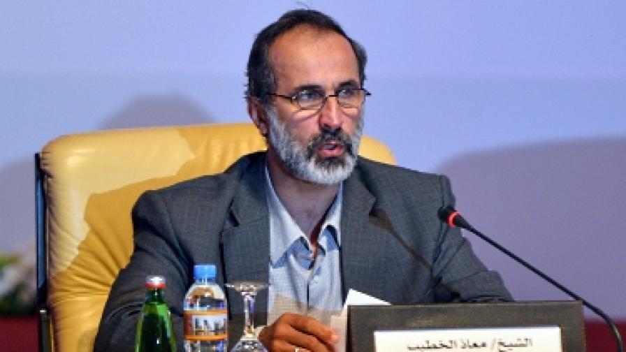 Духовник, бивш депутат и жена застават начело на сирийската опозиция