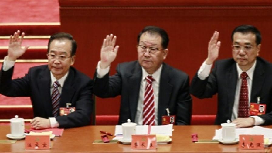 Конгресът в Китай избра нов ЦК на партията
