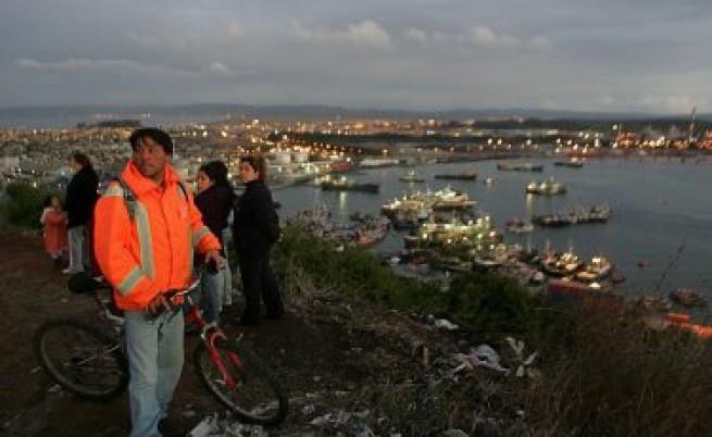 Силно земетресение в Чили