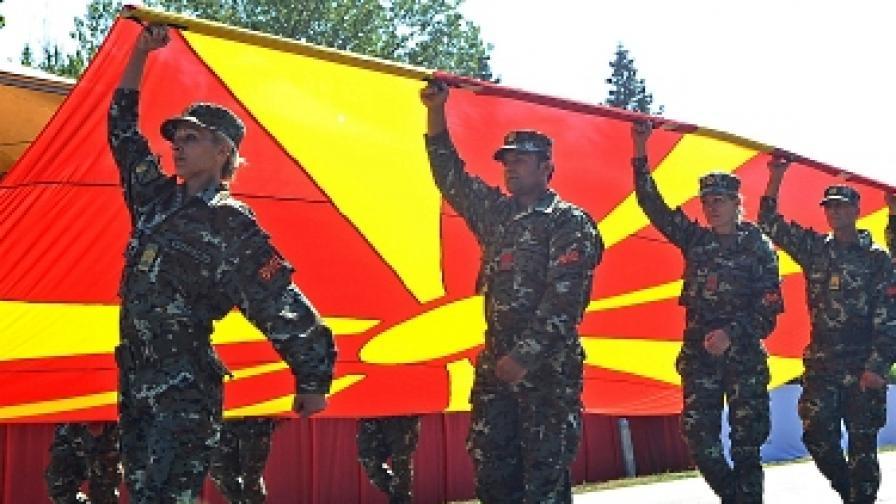 Македонци и българи си мерят пилоните