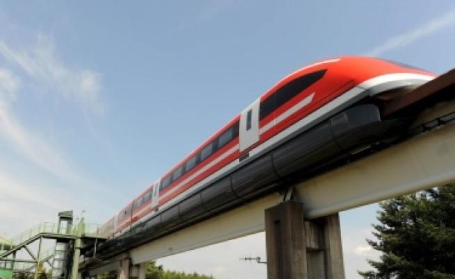 Японски влак достига скорост от 500 км/ч