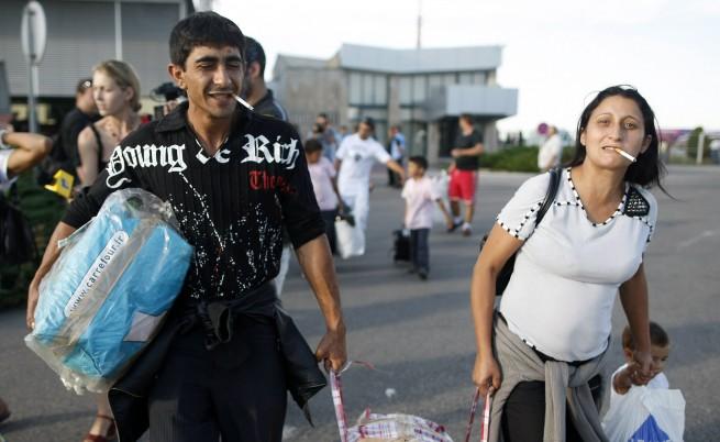 Френската полиция изведе 50 роми от незаконен лагер в Бордо
