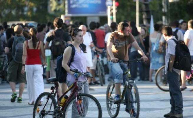 Протестиращият на Орлов мост - Човек на годината 2012