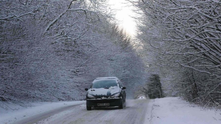 Жълт код за 20 области в страната заради снега
