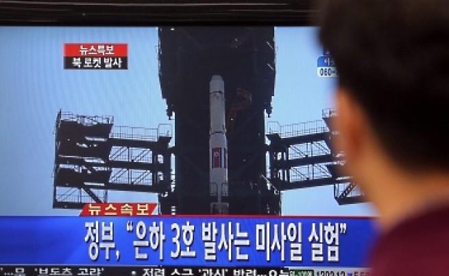 КНДР изстреля успешно ракета и изведе спътник в орбита
